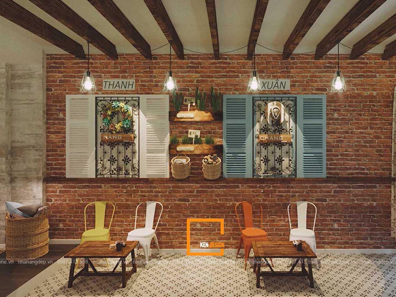 thiết kế quán cà phê Baker Bear tại Hà Nội