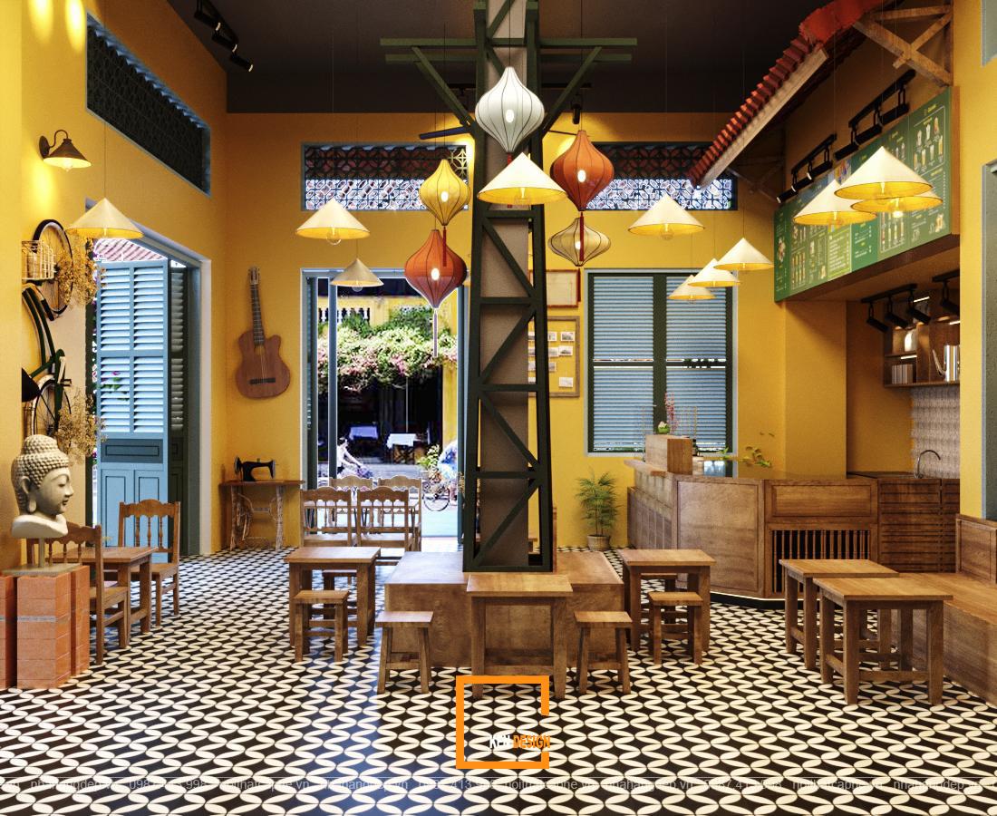 thiết kế thi công quán trà chanh
