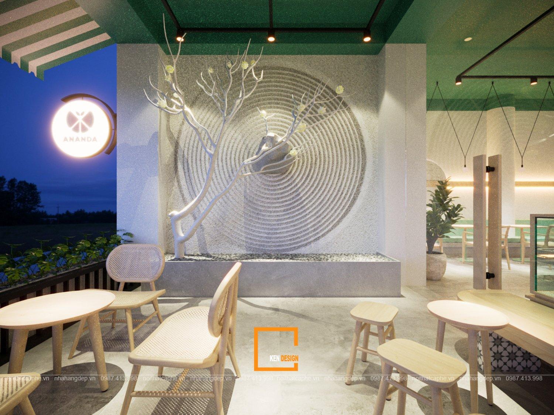 thiết kế tiệm trái cây và đồ uống ANANDA phong cách Zen