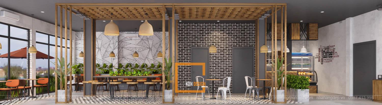 Thiết kế quán Vũ Cafe