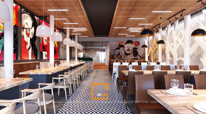 Xu hướng thiết kế nhà hàng 2020 đáng tham khảo