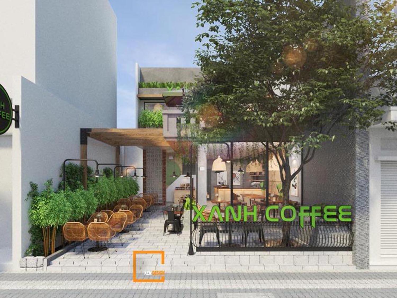 xu hướng thiết kế quán cafe