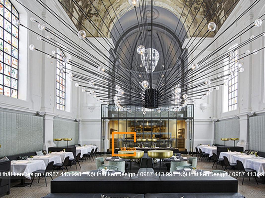 Ý tưởng thiết kế nhà hàng