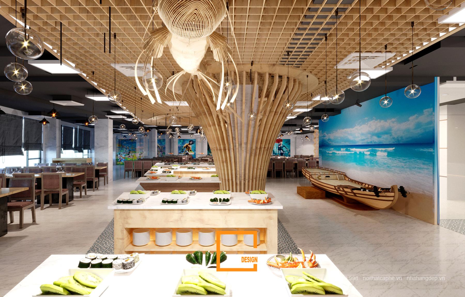 Một số ý tưởng thiết kế nhà hàng phù hợp với xu hướng