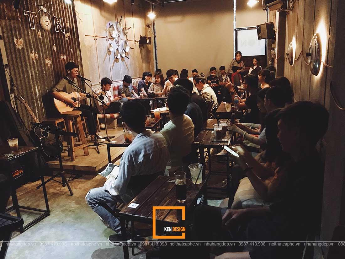 Thiết kế quán cafe tại Vũng Tàu