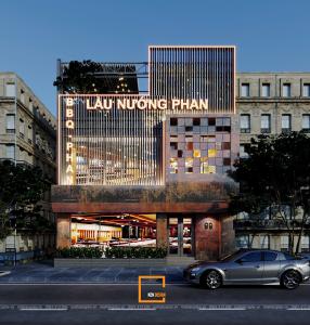 Ấn tượng với thiết kế nhà hàng lẩu nướng Phan tại Hà Nam