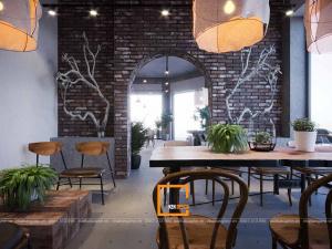 Thiết kế quán cafe Conner Coffee tại Cẩm Phả