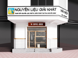 Thiết kế quán In Coffee House -  viên ngọc châu giữa phố thị phồn hoa